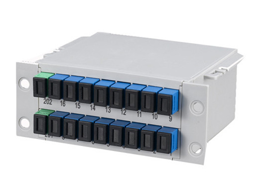 1x16 Fiber PLC Splitter, Mini Plug-in Type/Card Insertion type/Cassette SC/LC/FC/ST, APC/UPC