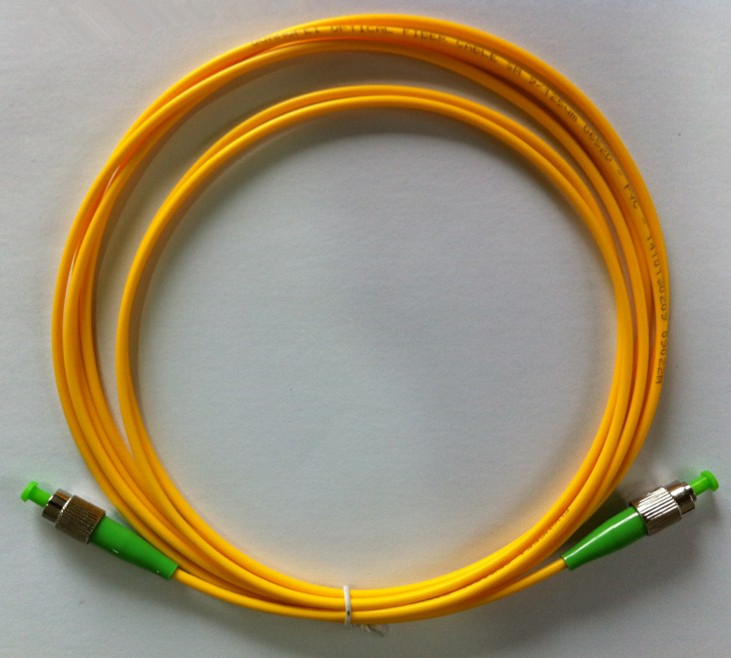 FC APC to FC APC 9/125 OS2 Simplex Single-Mode Fiber Optic Patch Cord,Fiber Optic Patch Cables