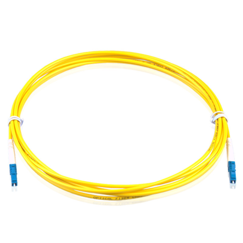 LC UPC to LC UPC 9/125 OS2 Simplex Single-Mode Fiber Optic Patch Cord,Fiber Optic Patch Cables