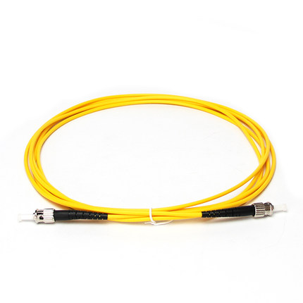 ST UPC to ST UPC 9/125 OS2 Simplex Single-Mode Fiber Optic Patch Cord,Fiber Optic Patch Cables