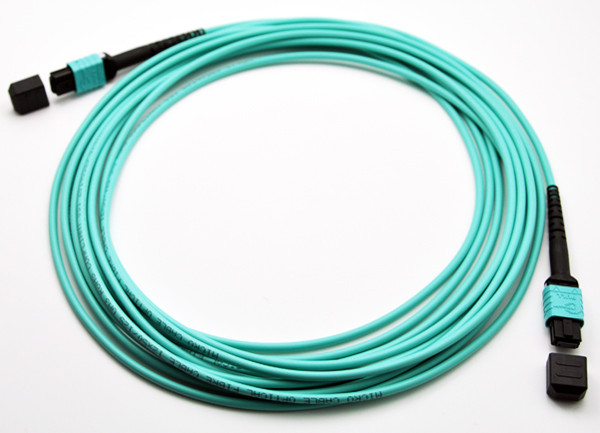 8 Fibers 10G OM4 12 Strands MTP/MPO Trunk Cable Fiber Optic Patch Cord,Fiber Optic Patch Cables
