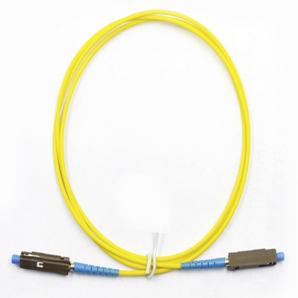 MU UPC to MU UPC 9/125  Simplex Single-Mode Fiber Optic Patch Cord,Fiber Optic Patch Cables