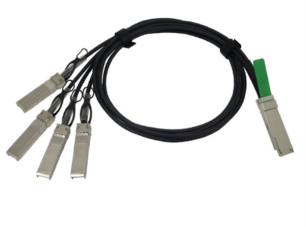 5m Cisco QSFP-4SFP10G-CU5M Compatible 40G QSFP+ to 4x10G SFP+ Passive Direct Attach Copper Breakout Cable
