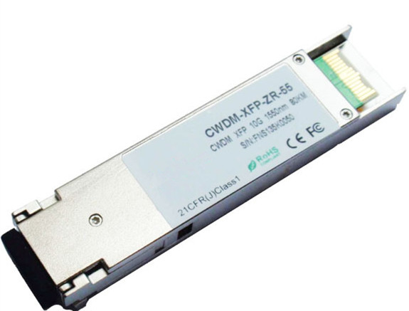 10G CWDM XFP 1470nm-1610nm 80km DOM Fiber optic Transceiver