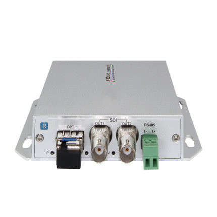 1 Channel Unidirectional HD-SDI 3G-SDI over fiber optic video converter transmitter and receiver Set